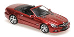 Maxichamps MERCEDES-BENZ SL-CLASS (R230) – 2008 – RED METALLIC M1:43